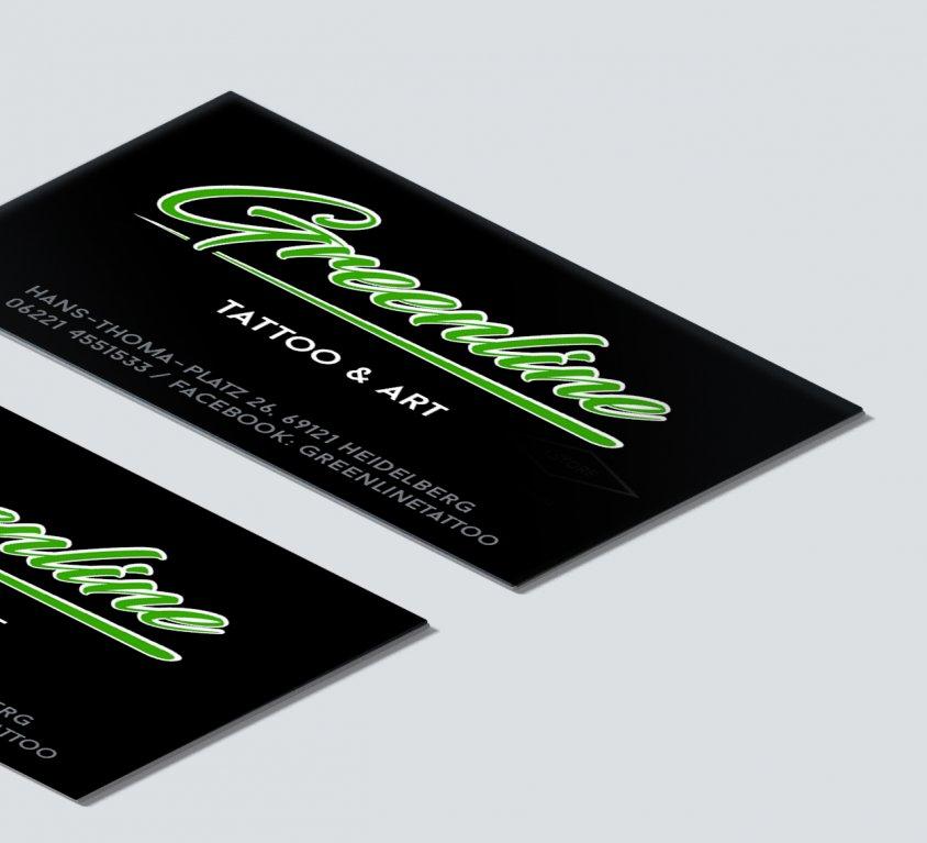 Logo und Visitenkarten-Design
